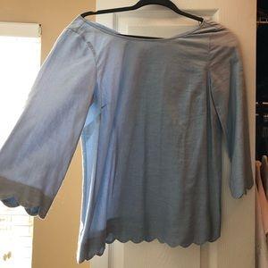 Vineyard Vines scalloped dress shirt